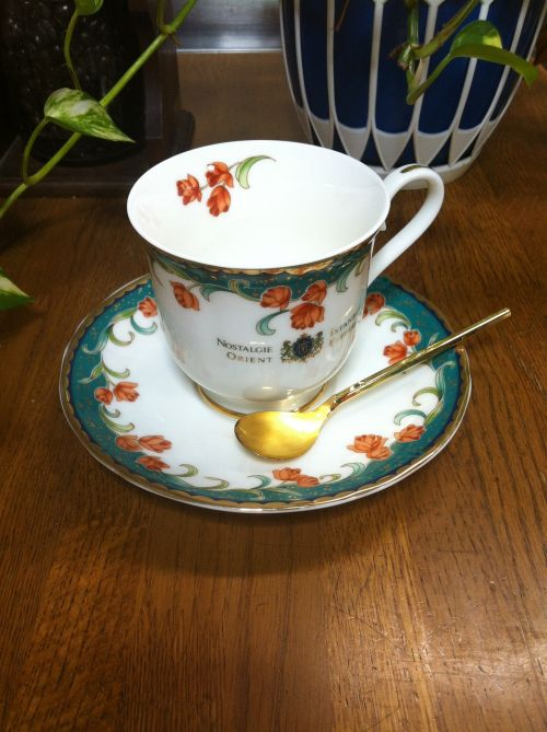 coffee cup saucer