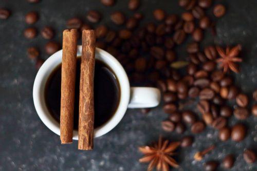 coffee cinnamon spices