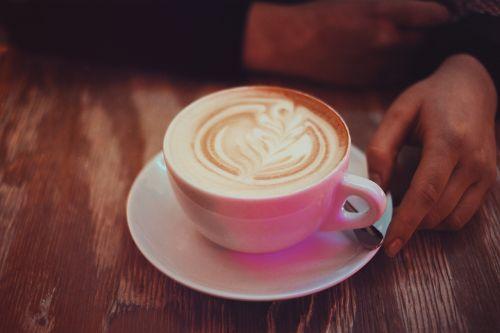 coffee caffe late