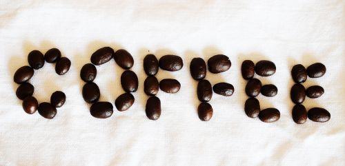 coffee grains the inscription