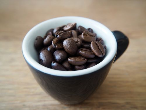 coffee coffee cup beans