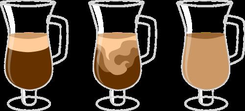 coffee diffusion drink