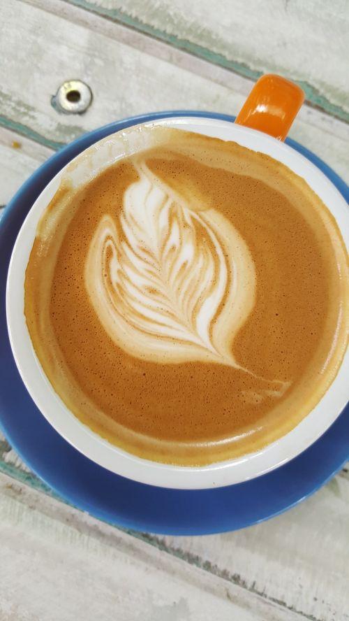 coffee blue mug