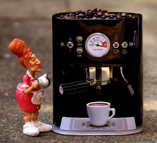 coffee waitress operation