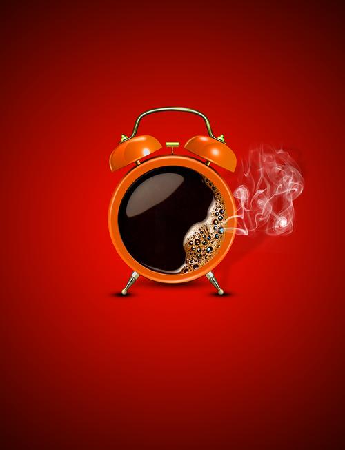 coffee  alarm  morning alarm