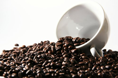 coffee  coffee beans  cup
