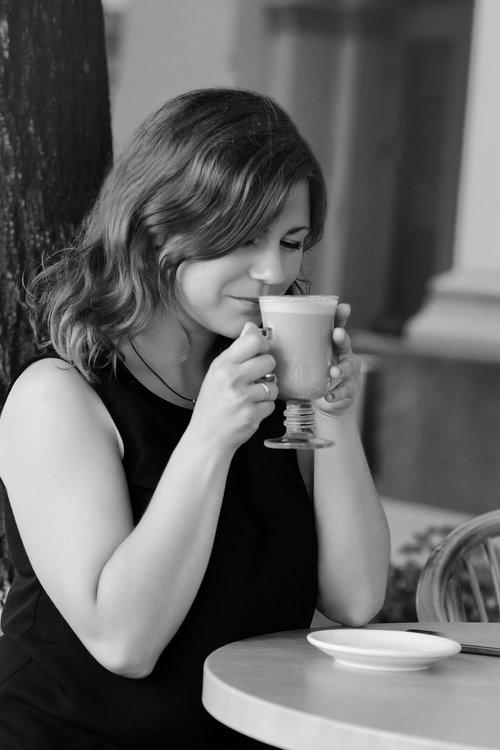 coffee  woman  girl