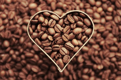 coffee  coffee beans  heart