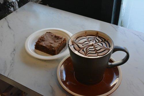coffee  brownie  cafe