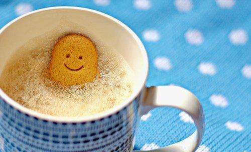 coffee  mug  gingerbread man