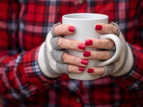 coffee  mug  red