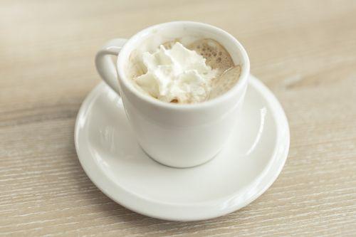 coffee espresso whipped cream