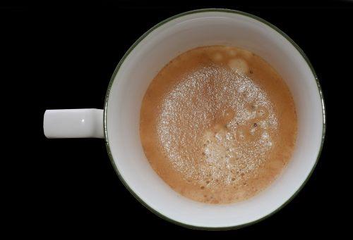 coffee cup foam