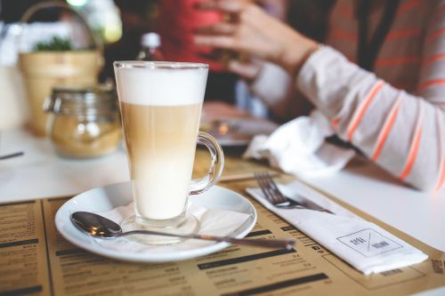 coffee latte milk
