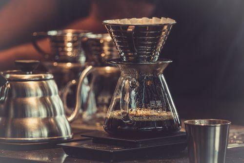 coffee brewing caffeine