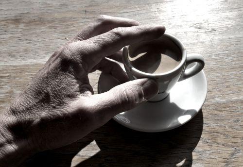 coffee hand cup