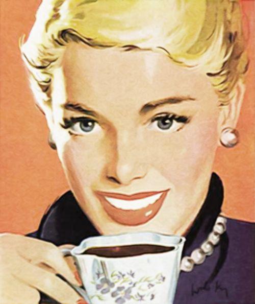 kava,arbata,vintage,senamadiškas,seni skelbimai,moteris,gerianti kavą,geria arbatą,Šviesiaplaukis,blondinė moteris,taurė,gerti,puodelis kavos,kavos puodelis,kavinė,arbatos puodelis,puodelis,espresso,pusryčiai,gėrimas,puodelis arbatos,kofeinas,kavinė,asmuo,latte