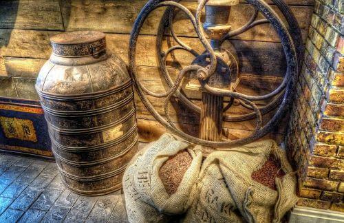 coffee bean grinder drink