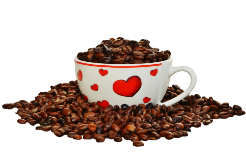 coffee beans cup coffee