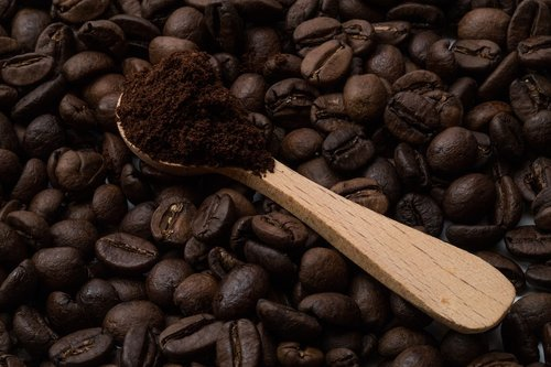 coffee beans  aroma  caffeine