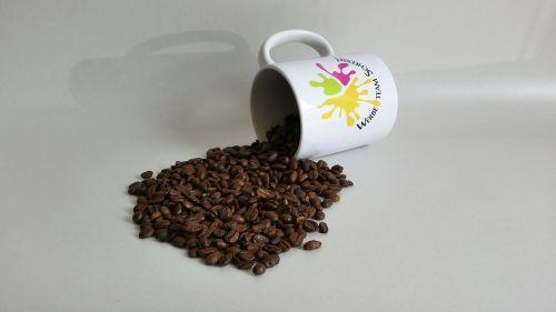 coffee beans coffee cup coffee