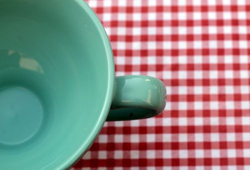 coffee cup tablecloth cup