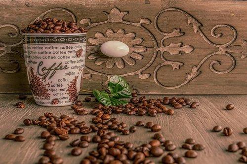 coffee cup  coffee  coffee beans