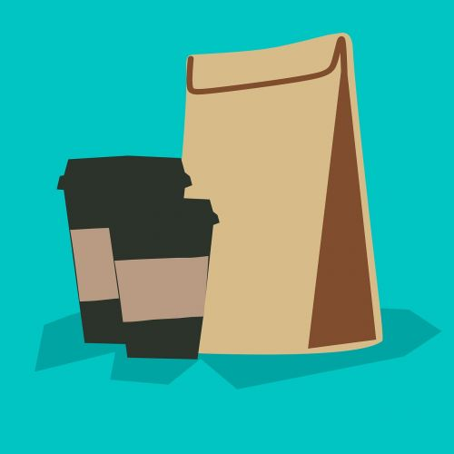 coffee - drink template packaging