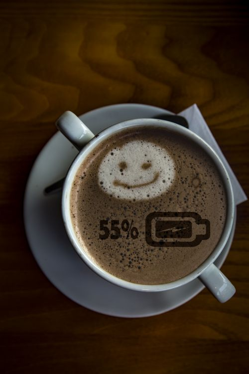 Coffee Fifty Five Percent