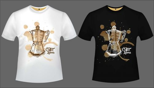 design tshirt coffee