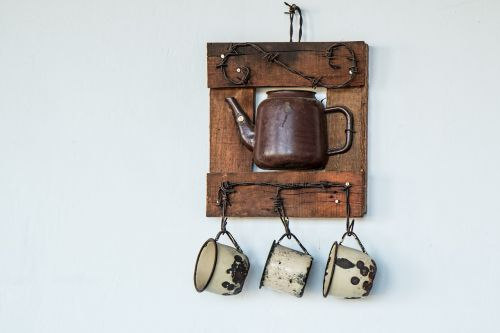 coffee pot teapot cups