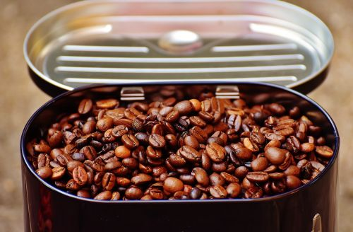 coffee tin coffee coffee beans