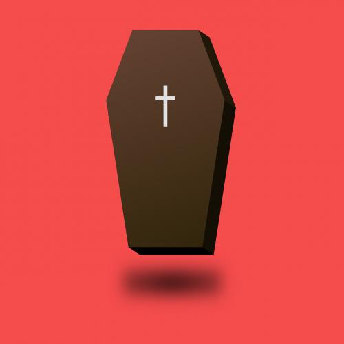 coffin dead death