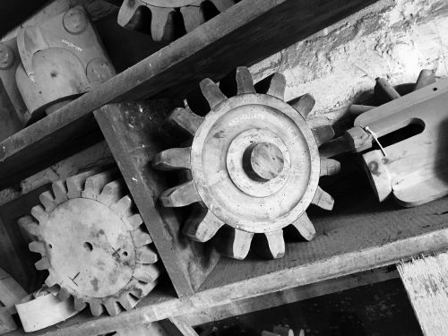 cogs mechanical gearwheel