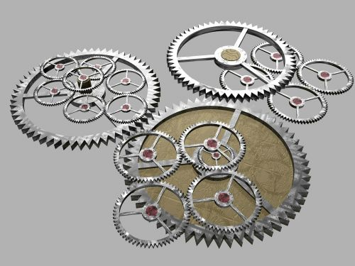 cogs gears machine