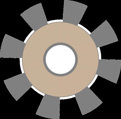 cogwheel gear settings