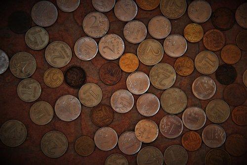 coin  ruble  russia