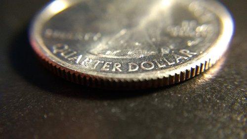 coin  quarter  money