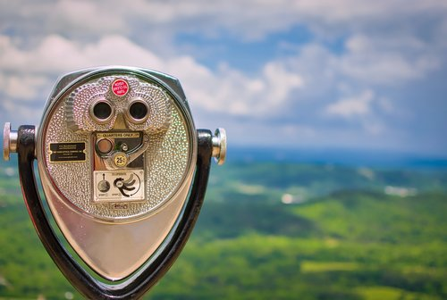 coin-operated binoculars  chattanooga  tennessee