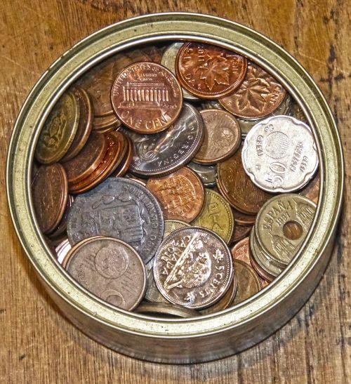 coins money collection