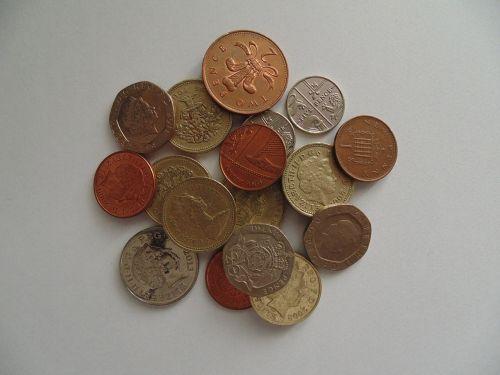 coins money british