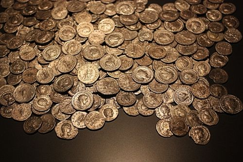 coins old roman