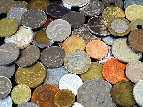coins parts metal