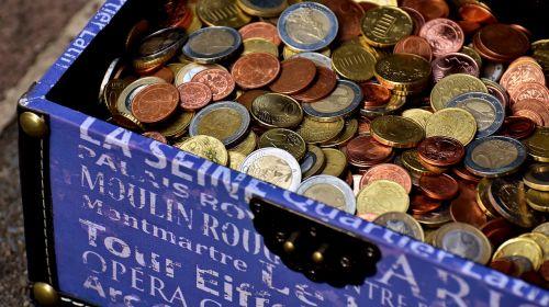 coins chest euro