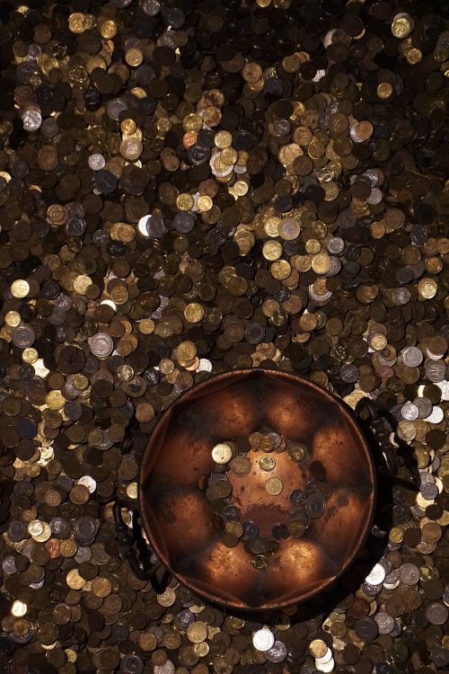 coins store a wealth of