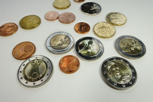 coins euro wealth
