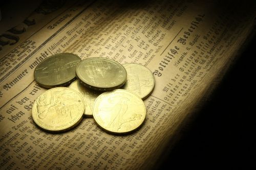 coins gold currency