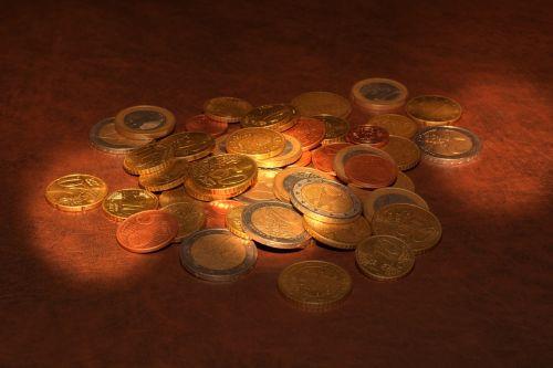 coins euro specie