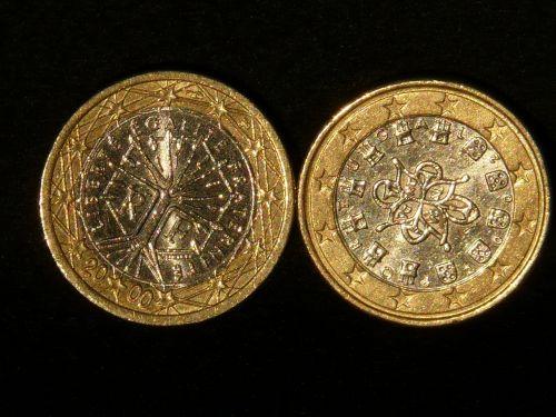 coins euro money