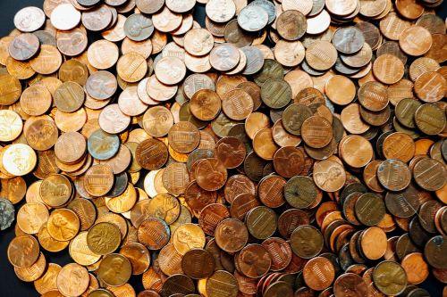 coins pennies money